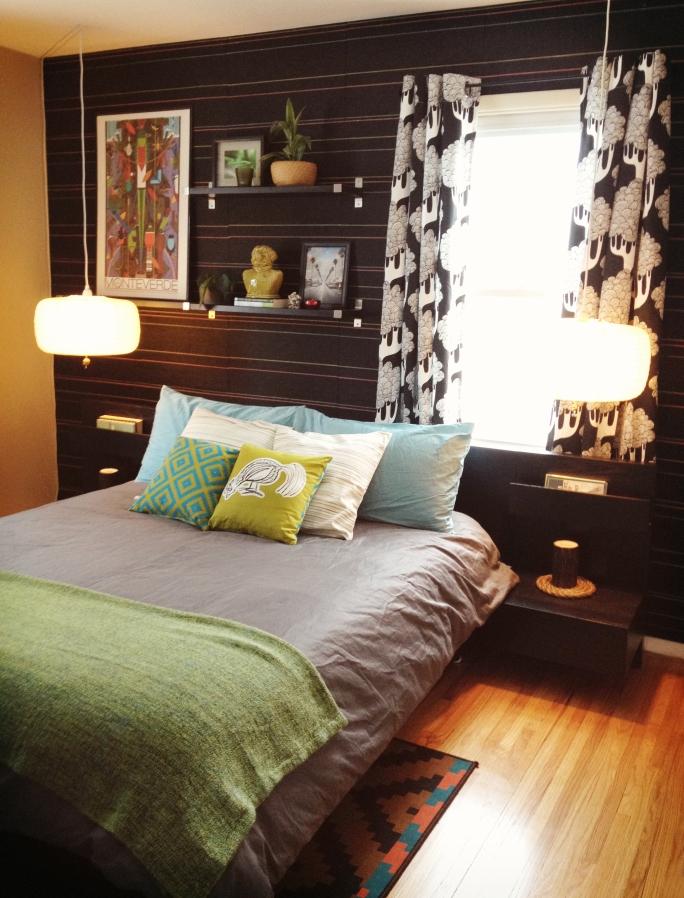 Rob's Eclectic & Vibrant Bedroom